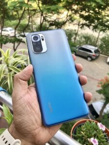 Redmi Note 10s Hand Set on Review